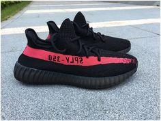 Authentic Adidas Yeezy 350 V2 Black/Pink0
