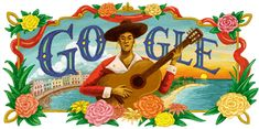 anniversary of the birth of María Teresa Vera Maria Teresa, Look Back At Me, Birthday Dates, Fire Emblem Awakening, Google Doodles, Reference Images, Her Music, Coloring Books, Folk