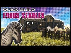 Quick Build   Equus Stables   Ark Survival - YouTube