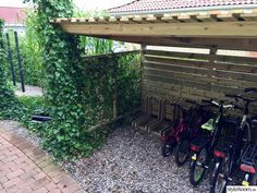 Want to find out about backyard sheds? Then here is definitely the right place! Bike Storage, Shed Storage, Closed In Porch, Bike Shelter, Corner Sheds, Outdoor Pool, Outdoor Decor, Diy Shed Plans, Bike Shed