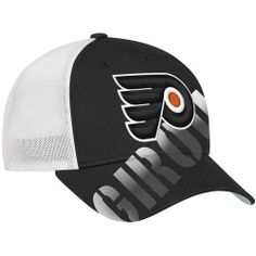 NHL Reebok Claude Giroux Philadelphia Flyers Player Stretch Fit Hat - Black/White by Reebok. $23.95. Reebok Claude Giroux Philadelphia Flyers Player Stretch Fit Hat - Black/White50% Cotton/50% PolyesterQuality embroideryScreen print graphicsStructured fitImportedFour mesh panelsStretch fitOfficially licensed NHL product50% Cotton/50% PolyesterStructured fitStretch fitQuality embroideryScreen print graphicsFour mesh panelsImportedOfficially licensed NHL product