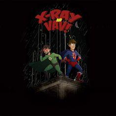 X-Ray and Vav Adventure Shirt