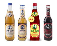 Club-Mate: Carbonated Yerba Mate Energy Drink