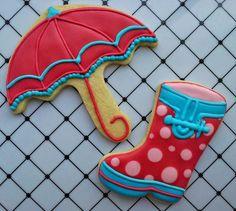 Dulces botitas de agua :-D #rainboots #igorshoes #cookies #diy #repostería