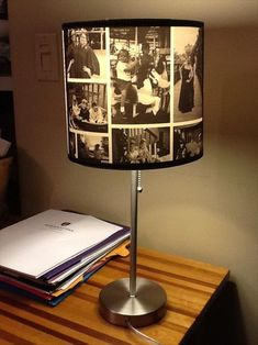 DIY Best Paper Lampshade - 18 Amazing DIY Lamp Ideas You Can Do It At Home Here we will share with you 18 Amazing DIY Lamp Ideas You Can Do It At Home of how you can make some beautiful and gor Lampe Photo, Photo Lamp, Skateboard Lampe, Paper Lampshade, Lampshade Decor, Diy Tumblr, Decoration, Diy Furniture, Furniture Outlet