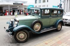 1929 Reo, spotted in Blenheim, NZ