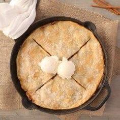 Grandmas Iron Skillet Apple Pie - Allrecipes.com