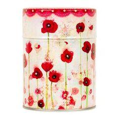 Boîte à thé Poppies - Minasmoke
