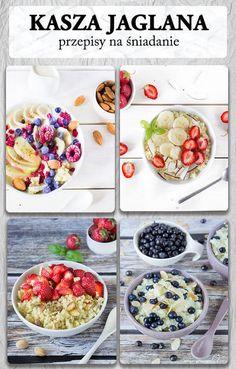Kasza jaglana przepisy na śniadanie – jaglanka A Pumpkin, Bento, Sweet Tooth, Lunch Box, Food And Drink, Vegetarian, Nutrition, Healthy Recipes, Breakfast