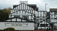 Royal Hotel Gateshead Royal Hotel is a convenient and friendly base just off the A1, between the Newcastle/Gateshead Quayside and the Metro Centre. The property offers free parking and free Wi-Fi in public areas.  All rooms have a TV and tea/coffee facilities.