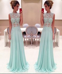 Sheath Lace Sexy Long Prom Dress,Evening Dress,Charming Prom ...