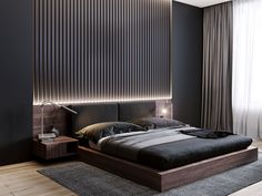 40 Easy Minimalist Bed room Design Concepts You Like room - Decor Ideas Modern Luxury Bedroom, Master Bedroom Interior, Luxury Bedroom Design, Bedroom Closet Design, Modern Master Bedroom, Modern Bedroom Decor, Bedroom Furniture Design, Home Room Design, Contemporary Bedroom