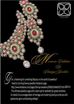 A bridal wear in 925 silver with 21k gold plating embeded with hand made melawhite polkies,Oval Rubies & emeralds!                        Extremely Adorable!                                                    https://www.facebook.com/pages/Damiya-Jewellers/289361234463272?ref=hl