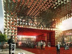 Ground breaking for Danish Rock Museum by MVRDV @ Dailytonic