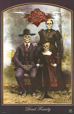 Grateful Dead, The - Stanley Mouse - Dead Family Grateful Dead Casey Jones, Grateful Dead Poster, Grateful Dead Shows, Wes Wilson, Stanley Mouse, Digital Print, Family Album, Concert Posters, Music Posters