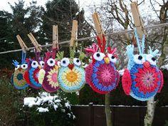 Conejito de la momia: Easy Crochet Owl Tutorial