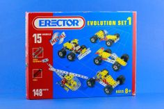 Meccano Erector Evolution Set 1 #Toys #Vintage