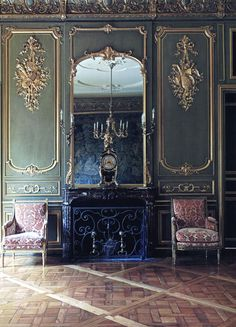 Historic Houses of Paris ~ Gorgeous, the mirror is superb, I love it all ~❥