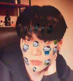 Hello Kitty, Mr Cat, Husband Appreciation, Hoseok Bts, My Little Baby, Foto Bts, Bts Memes, Mars, Kpop