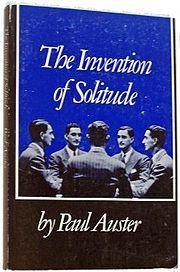 Paul Auster - The Invention of Solitude - La invención de la soledad