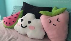 DIY: Cute Kawaii Pillows — Incandescent Duality