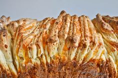 Cheesy Puff Pull-apart Bread