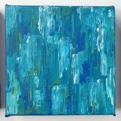 "Ocean Deep I, 6x6"" - Original Art by Andrea Smith   7th & Palm, LLC"
