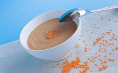 Recette - Dahl de lentilles corail Cheeseburger Chowder, Soup, Pudding, Blondes, Cooking, Desserts, Tomatoes, Kitchens, Recipes