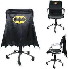 Black Batman Chair Cape