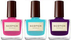Scotch Naturals Non-Toxic Nail Polish is a safe nail polish for pregnant women | Nourished Life