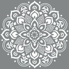 DecoArt Americana Decor 10 in. Mandala - The Home Depot - design - DecoArt Americana Decor 10 in. Mandala – The Home Depot - Stencils Mandala, Stencil Art, Mandala Art, Stenciling, Floor Stencil, Mandala Painting, Stencils For Painting, Lace Stencil, Stenciled Floor