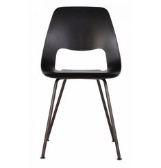 Back in black, the Replica Alfredo Häberli Jill Chair exudes timeless style and comfort. The organically shaped polypropylene seat shell allows you to