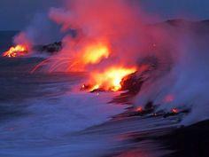 Volcano tour on Maui