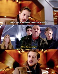 """Killer, klepto, pyro."" 1x13 Legends of Tomorrow"