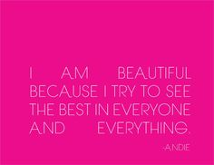 What Makes You Beautiful by Andie What Makes You Beautiful, You Are Beautiful, Be Yourself Quotes, Make It Yourself, The Girl Who, I Tried, Real Talk, Girl Power, Middle School