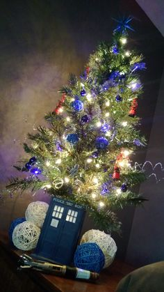 My Doctor Who Christmas Tree! #loveit#doctorwho#tardis#sonicscrewdriver
