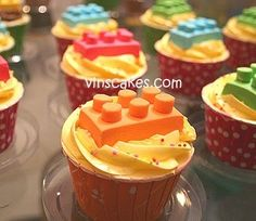 Vins Cakes - Birthday Cake  Cupcake - Wedding Cupcake - Bandung Jakarta Online Cakes Shop: Lego Topper Cupcake for Ramas 3rd Bday! parties quotes-random-pictures
