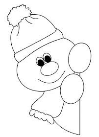 Window snowman coloring pages for preschool Christmas Paper, Christmas Crafts For Kids, Xmas Crafts, Christmas Printables, Christmas Colors, Christmas Projects, Christmas Ornaments, Snowman Quilt, Christmas Applique
