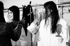 Le 21ème / Backstage at Jacquemus, Spring/Summer 2015 | Paris  // #Fashion, #FashionBlog, #FashionBlogger, #Ootd, #OutfitOfTheDay, #StreetStyle, #Style