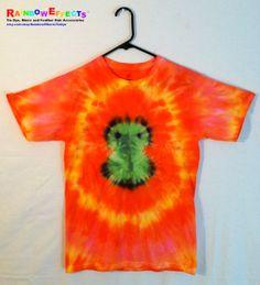 Tie Dye Tshirt  Green Owl Buddy by RainbowEffectsTieDye, $13.00