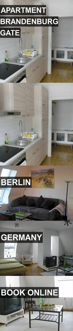 APARTMENT BRANDENBURG GATE in Berlin, Germany. For more information, photos, reviews and best prices please follow the link. #Germany #Berlin #travel #vacation #apartment