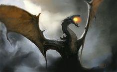 ArtStation - Dragon, Jovana Mate