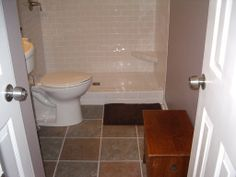 Bathroom Tile Paint - Old ceramic bathroom tiles may scratch, out date, or just lose luster. Ceramic Tile Cleaner, Ceramic Tile Bathrooms, Bathroom Floor Tiles, Bathroom Wall, Tile Floor, Subway Tile Showers, Cleaning Walls, Household Cleaners, Toilet