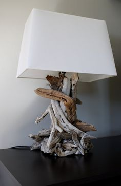 driftwood lamp More