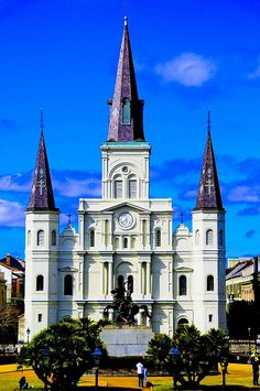 Jackson Square, also known as Place d'Armes, is a historic park in the French Quarter of New Orleans, Louisiana