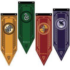 Harry Potter Hogwarts House Gryffindor Slytherin Ravenclaw Flag Banner Drape New Harry Potter Poster, Harry Potter Motto Party, Harry Potter Display, Harry Potter Banner, Harry Potter Thema, Harry Potter Props, Arte Do Harry Potter, Harry Potter Stickers, Harry Potter Classroom