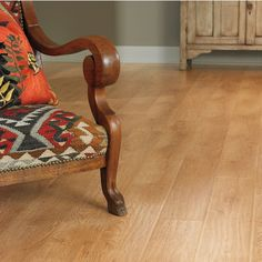 Columbia Castille Clic Laminate Floors  Color: Homespun Oak    Today laminate flooring can simulate the look of dozens of different natural hardwood materials.    www.yonancarpetone.com
