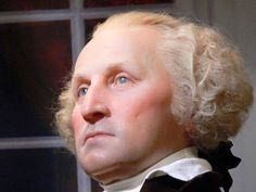 Forensic reconstruction of President George Washington, age 57 made from his death mask-looking rather humourless, I have to say Famous Historical Figures, Historical Photos, American Presidents, Us Presidents, Us History, American History, American War, British History, Ancient History