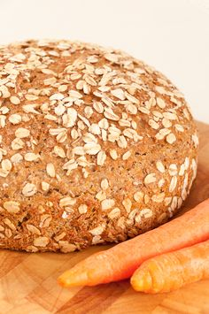 spelt carrot bread