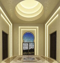 The Interior Design Project for a Luxury Villa in Dubai. | MATTEO NUNZIATI